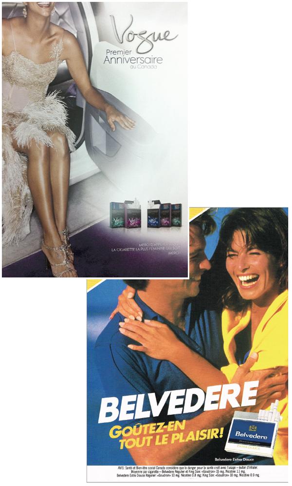Contrairement à ce qu'ils affirment, les cigarettiers ont activement développé de nouvelles clientèles au fil des années avec des publicités ciblant les femmes ou les jeunes.