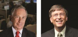 Les philanthropes milliardaires Michael Bloomberg et Bill Gates ont créé un fonds pour aider les États à livrer bataille contre l'industrie du tabac devant les tribunaux.