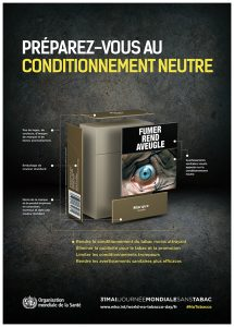 Info-tabac 114 - affiche emballage neutre OMS
