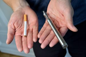 Info tabac 115 cigarette vs e-cig