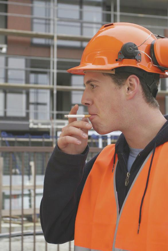 Fumeur ouvrier