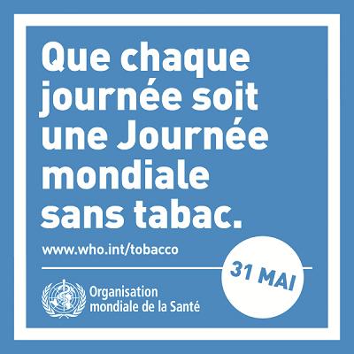 Info-tabac journée mondiale sans tabac