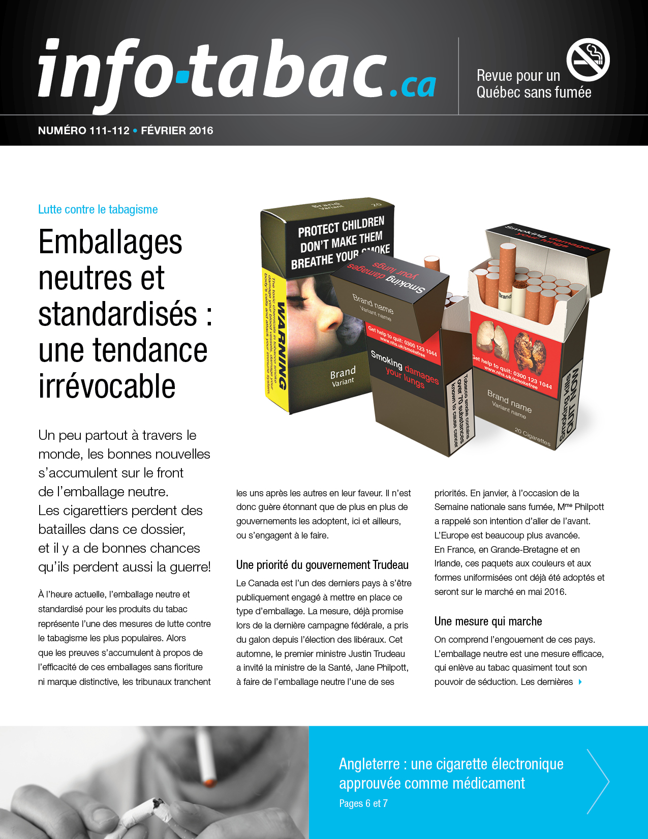 Info-tabac 111-112 couverture