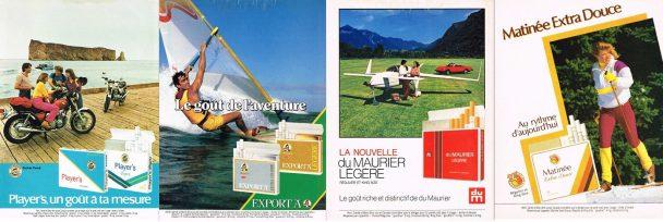 Info-tabac 118 recours collectifs publicité cigarettier