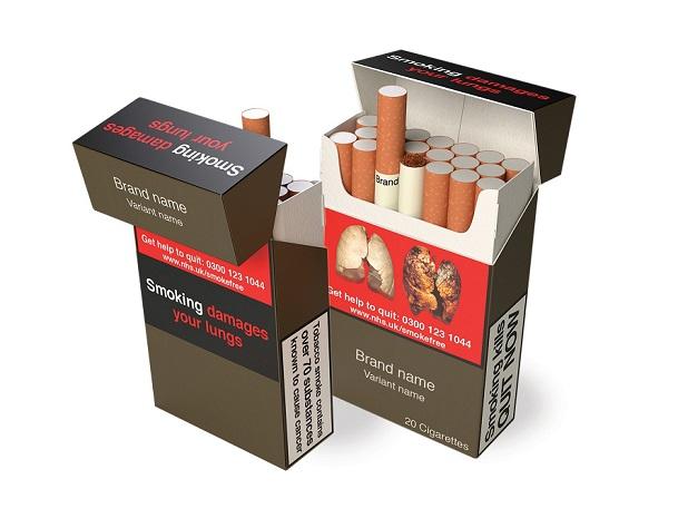 Info-tabac 118 Emballage neutre paquet 3D