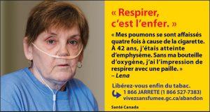 Info-tabac 120 - paquet témoignage Lena