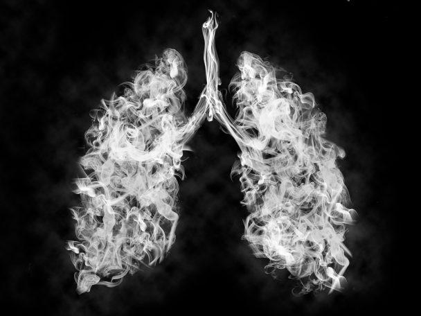poumons enfumés