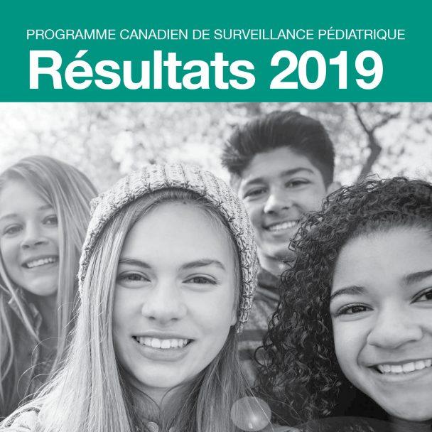 Jeunes souriant programme canadien de surveillance pédiatrique 2019