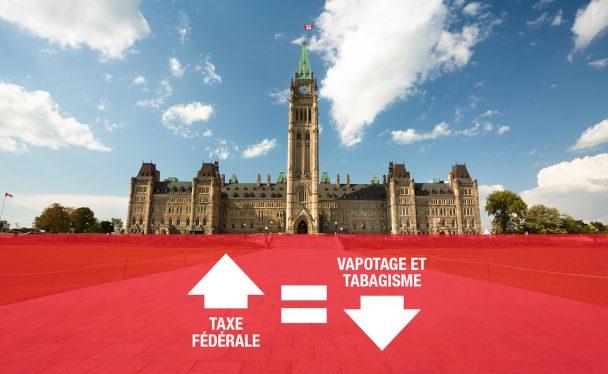 Ottawa vapotage taxe fédérale